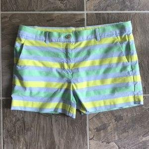 GAP stretch stripe shorts